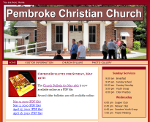 Pembroke Christian Church website